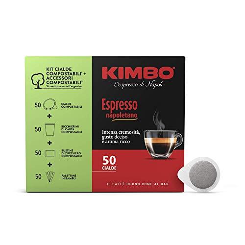 Kimbo Cialde Caffè Compostabili Ese Espresso Napoletano