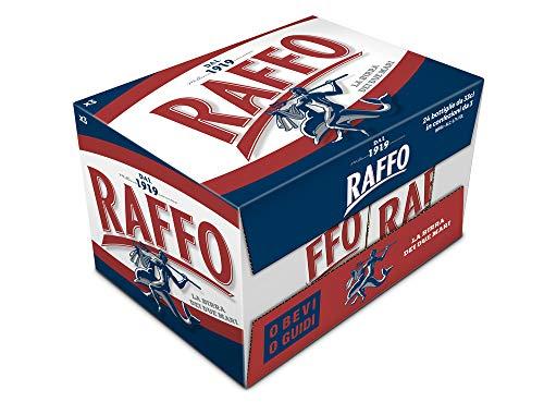 24x Bottiglie di Birra Raffo 33 cl