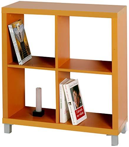 Libreria di legno - 4 vani