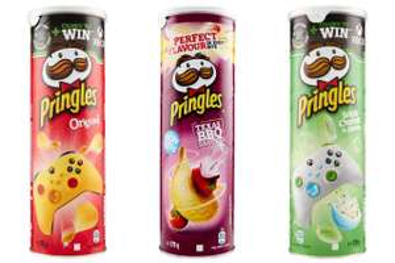 Pringles - Original/ Chips Texas BBQ / Sour Cream & Onion
