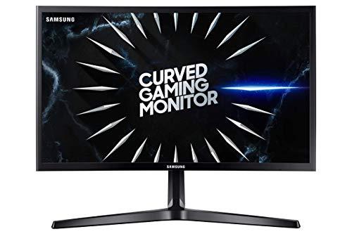 Samsung Monitor Gaming Curvo da 24 pollici, Full HD,1800R, 144 Hz