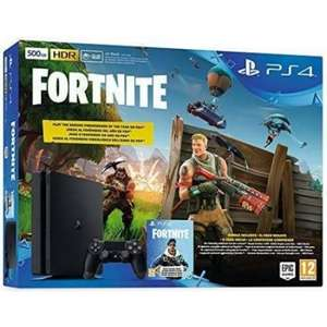 Sony Console fissa - Ps4 500gb F + Fortnite Vch 2019 9940708