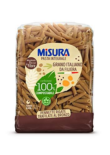 Misura - Pennette Rigate Integrali Fibrextra 500g