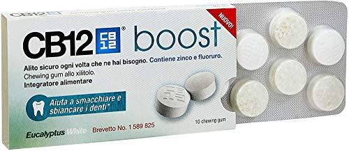 CB12 Whitening Boost - Gomme da Masticare - 10 pezzi