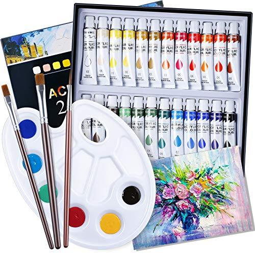 Colori Acrilici Bambini per Dipingere - Set Pittura