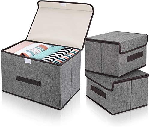 3 x scatole immagazzinaggio