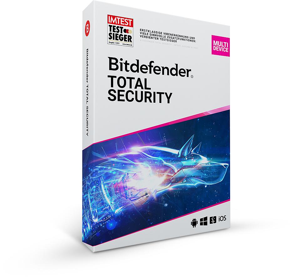 Bitdefender 2021 GRATIS 6 mesi (5 dispositivi, nuovi account)