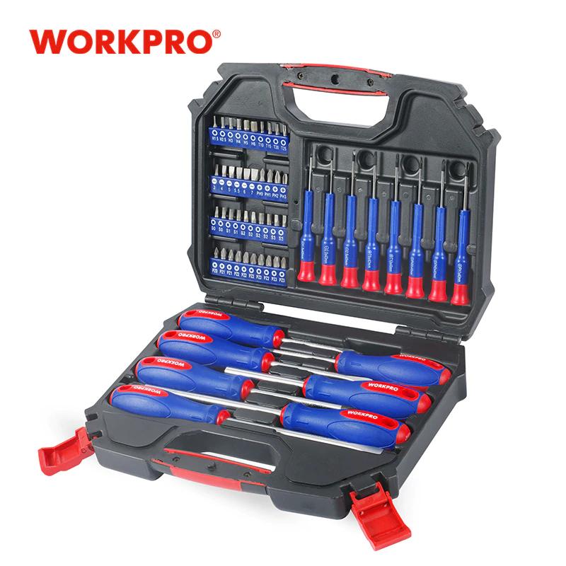 Kit Workpro 55 Pezzi 14.9€