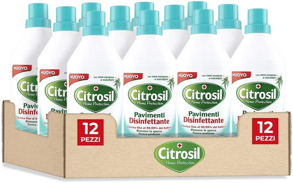 Citrosil disinfettante 12 Pezzi da 900ml 18.6€