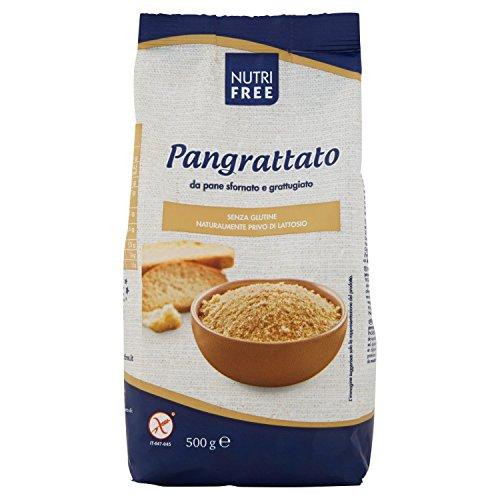 5x Nutrifree Pangrattato senza Glutine senza Lattosio - 500 gr