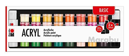 Marabu - Colori acrilici, taglia unica