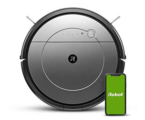 iRobot Roomba Combo - Robot Aspirapolvere e Lavapavimenti WiFi Compatibile con Google Home e Amazon Alexa