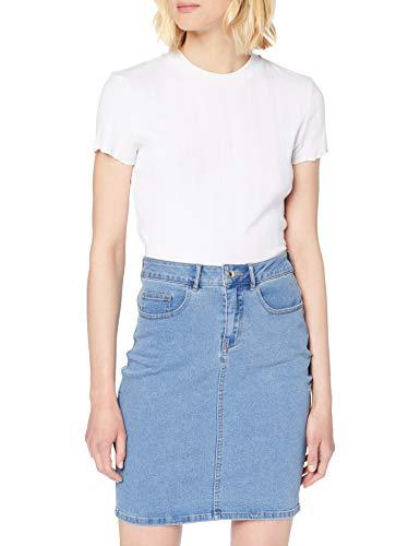 Gonna di jeans vita alta Vero Moda