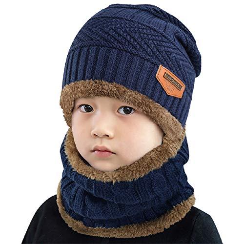 Cappello e Scaldacollo invernale per bambini