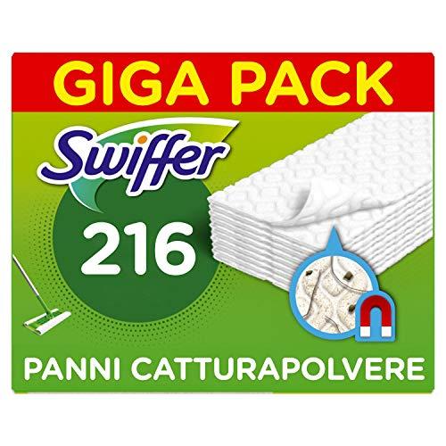 Swiffer GigaPack - 216 Panni di Ricambio per Scopa