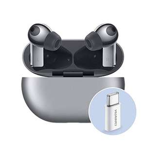 Huawei FreeBuds Pro con Adattatore Huawei AP52, Auricolari True Wireless Bluetooth con Cancellazione Intelligente del Rumore