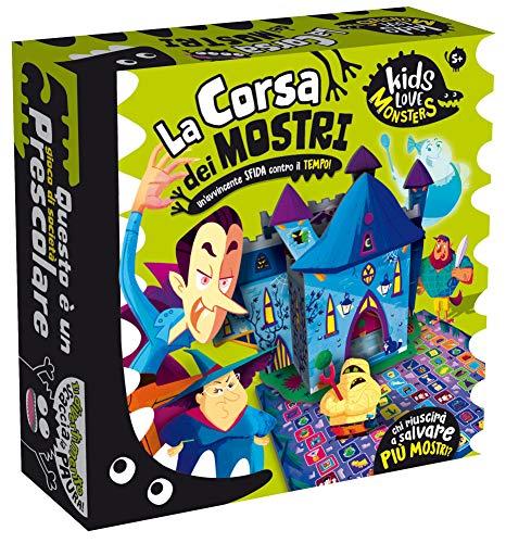 Liscianigiochi- Kids Love Monsters la Corsa dei Mostri