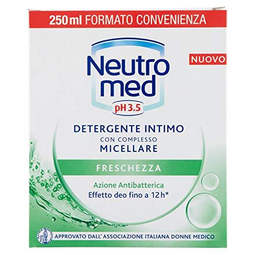 Neutromed Detergente Intimo Freschezza, con Complesso Micellare, Azione Antibatterica, pH 3.5, 250 ml
