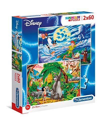 Clementoni - 2 puzzle Disney