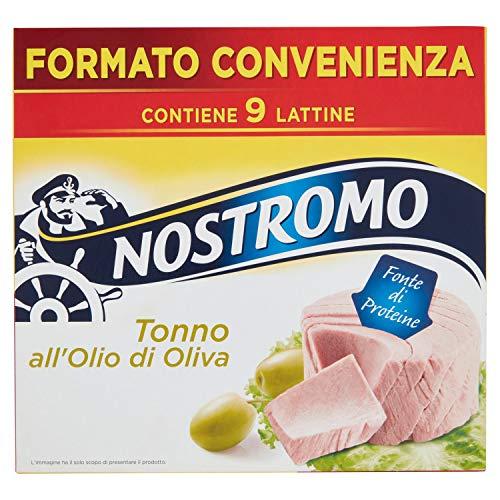 9x Tonno all'olio di oliva Nostromo - 70 gr
