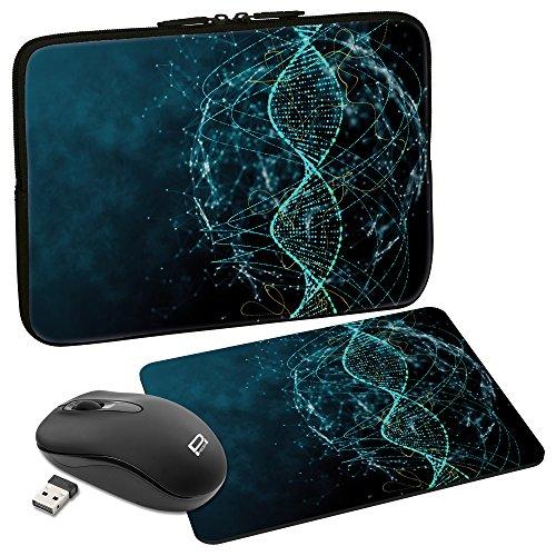 Bundle: mouse bluetooth + tappetino + custodia Notebook