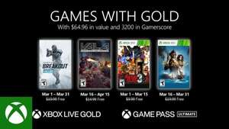 Games with Gold : Marzo 2021 - Warface: Breakout, Metal Slug 3, Port Royale 3, Vicious Attack Llama Apocalypse