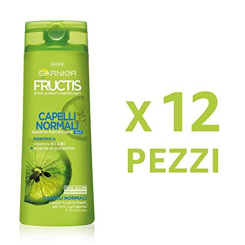 12 X Garnier Fructis Capelli Normali 2in1