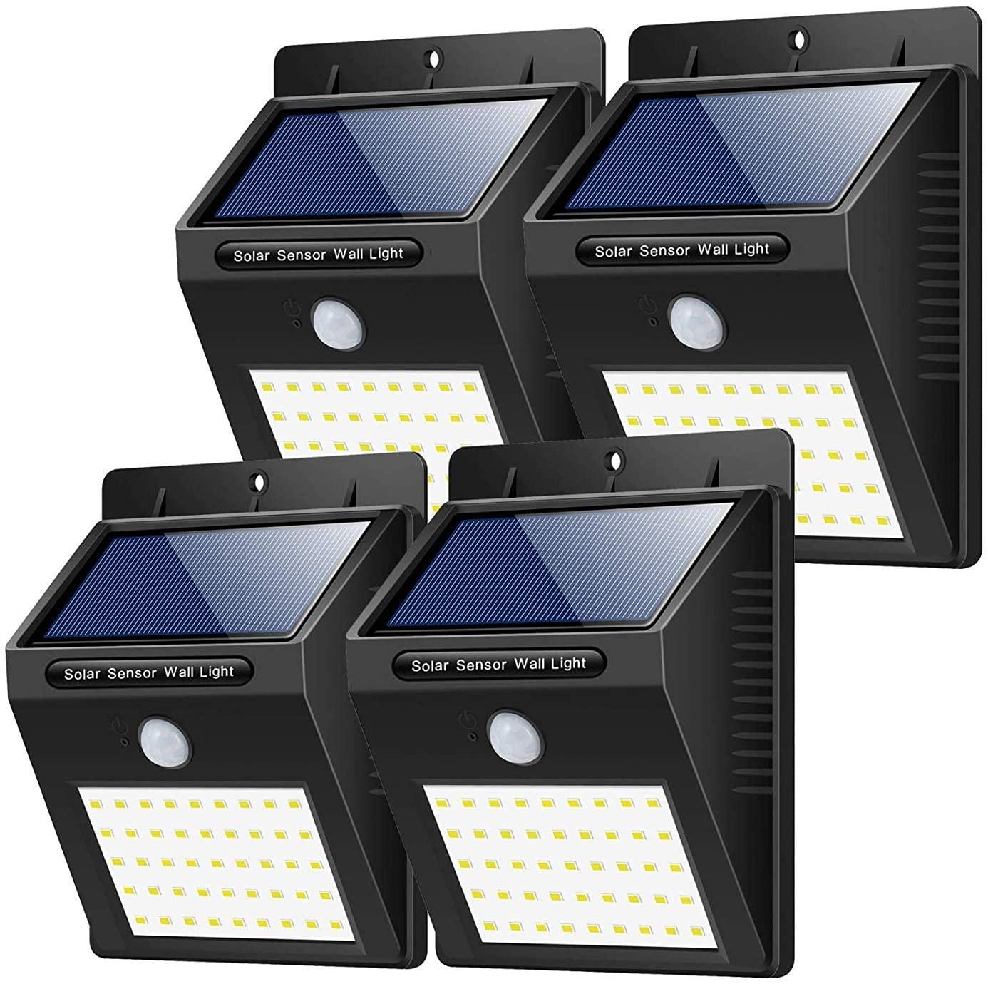 4X Luce Solare Sensore di movimento 16.8€