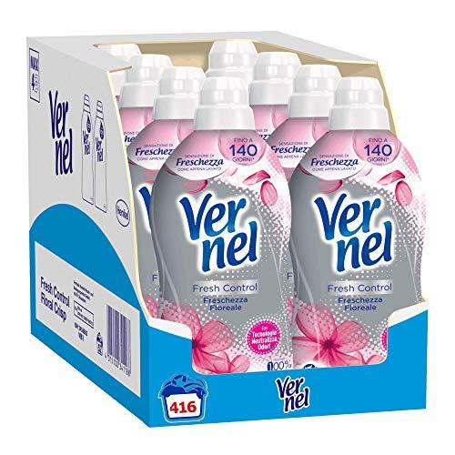 8x52 lavaggi Vernel Fresh Control Ammorbidente Freschezza Floreale