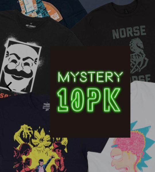 10 T-shirt Donna Mystery Geek 32.9€