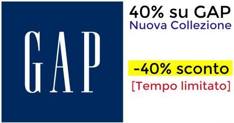 40% di sconto - GAP Nuova Collezione