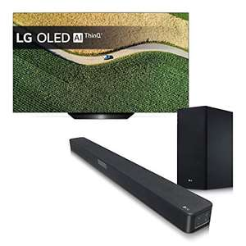 "LG LG TV OLED AI+ Soundbar, OLED65B9PLA + SL5Y, Smart TV 65"""