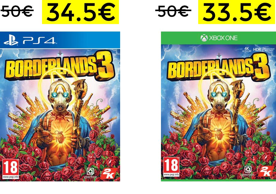 Borderlands 3 PS4-ONE
