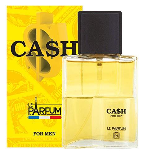 LE PARFUM DE FRANCE Cash $ Eau de Toilette Uomo 100 ml