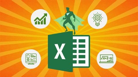 Gratis Corso Udemy: Zero to Hero in Microsoft Excel: Complete Excel guide 2021