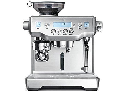 Sage Appliances macchina da caffè, acciaio inox spazzolato