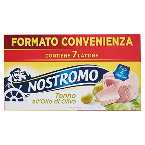 7x70gr Nostromo Tonno All'Olio Di Oliva