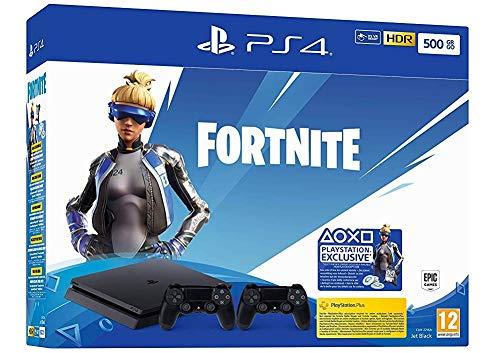 PlayStation 4 + 2° Controller + codice fortnite