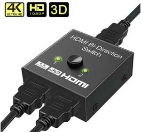 Switch - Splitter Bidirezionale 4K HDMI 4€