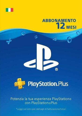 PlayStation Plus Card - 12 Mesi