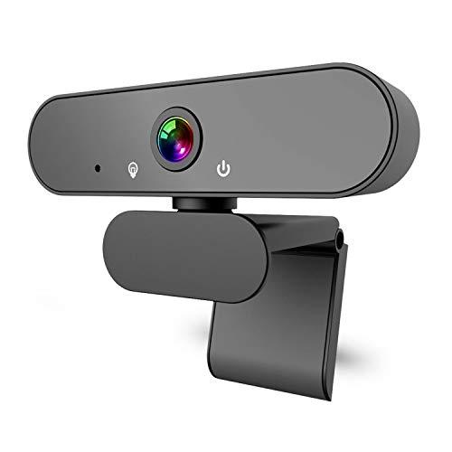 DINKALEN Webcam 1080P Full HD