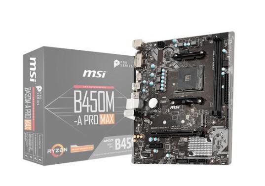 Errore di prezzo MSI Scheda Madre B450M-A PRO MAX Socket AM4 Chipset B450 Micro ATX