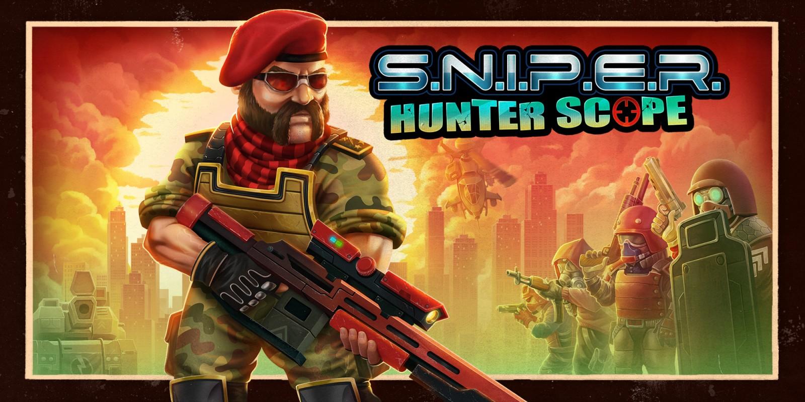 S.N.I.P.E.R. - Hunter Scope - Nintendo eShop