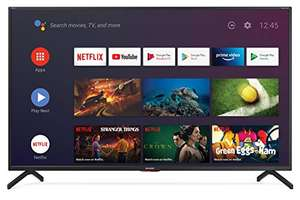 """Sharp Aquos 50BN6EA - 50"""" Smart TV 4K Ultra HD Dolby ATMOS Android 9.0, Wi-Fi, DVB-T2/S2"""