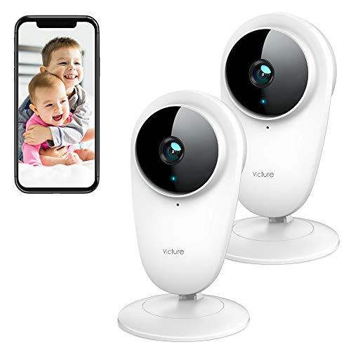 Victure 2 PCS 1080P Telecamera 2.4G WiFi