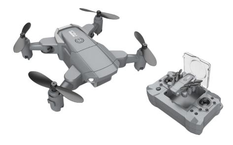 Mini Drone RC Pieghevole 6.5€