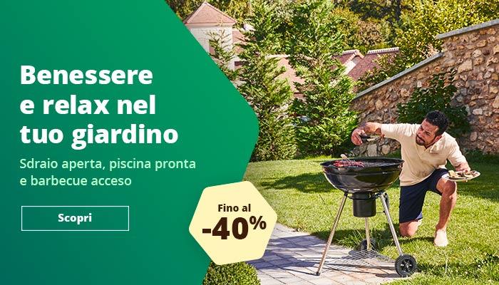 Fino al 40% di sconto - arredamento giardino