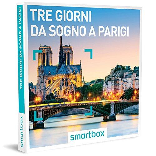Smartbox - Tre Giorni Da Sogno a Parigi - 15 Soggiorni In Hotel 3* e 4*, Cofanetto Regalo
