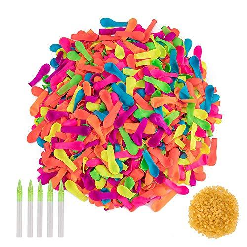 1000 palloncini per gavettoni con elastici inclusi