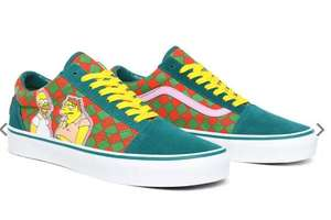 SCARPE THE SIMPSONS X VANS MOE'S OLD SKOOL